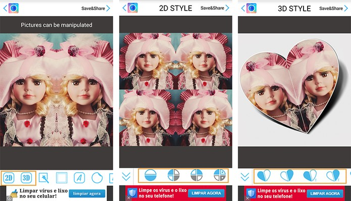 PhotoMirror: personalize sua foto com efeito de espelho no aplicativo Android P02