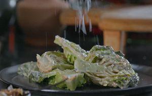 Como fazer salada ceasar defumada