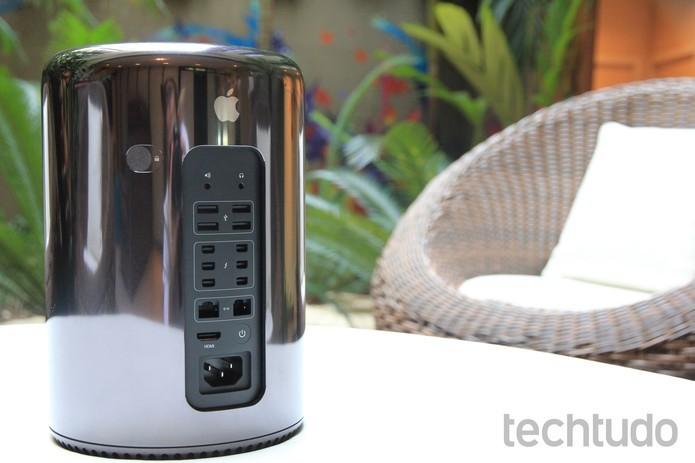 Apple pode lançar novo Mac Pro em breve (Foto Juliana PixinineTechTudo)