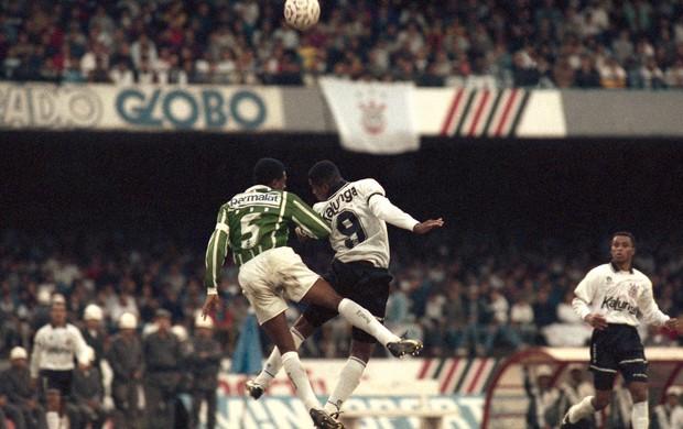 Paulistão 1993 César Sampaio Viola Palmeiras Corinthians (Foto: Marcos Mendes / Agência Estado)