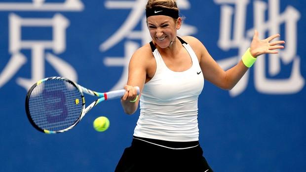 Tênis Victoria Azarenka wta de Beijing (Foto: Agência Getty Images)
