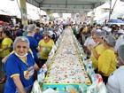 Aniversário de Belém tem bolo de 15 metros de comprimento no Ver-o-peso