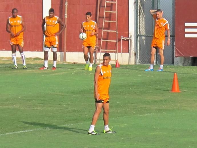 Cícero treina com time do Fluminense (Foto: Hector Werlang/GloboEsporte.com)