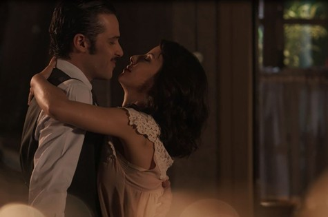 Fernão e Lucinda em 'Tempo de amar' (Foto: TV Globo)