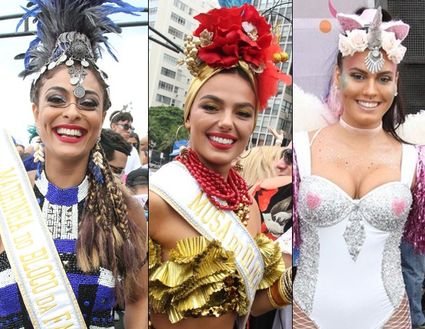 Juliana Paes, Isis Valverde e Letícia Lima (Foto: Marcos Fernandes / Agnews  Thyago Andrade/ Brazil News)