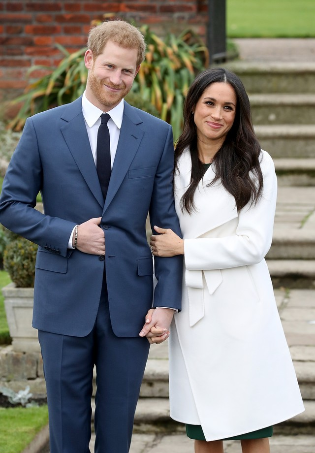 Meghan Markle e príncipe Harry (Foto: Chris Jackson/Getty Images)