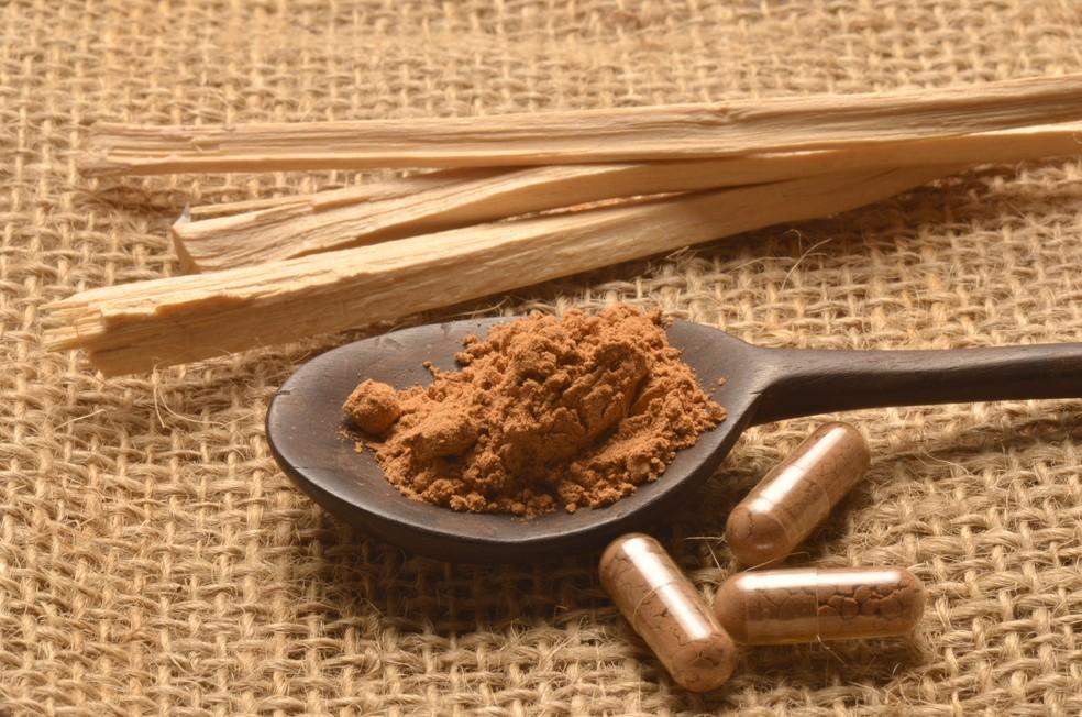 Guaraná em pó ou cápsulas: excelente fonte de substâncias estimulantes (Foto: IStock Getty Images)