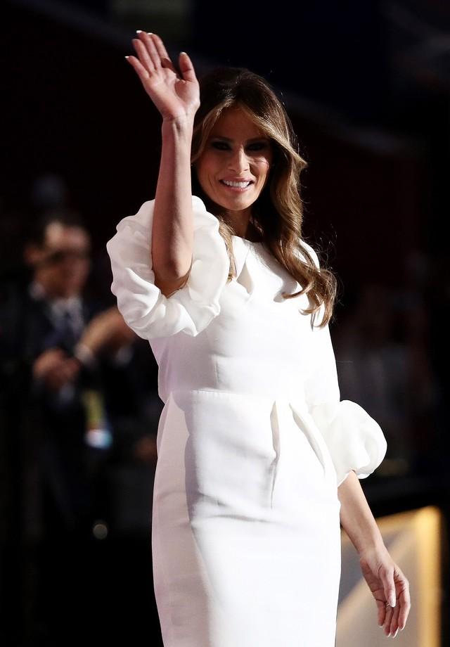 Melania durante a Convenção Nacional Republicana (Foto: Getty Images)