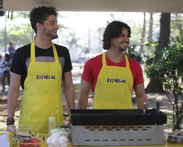 Munhoz e Mariano  (Foto: Pedro Curi / TV Globo)