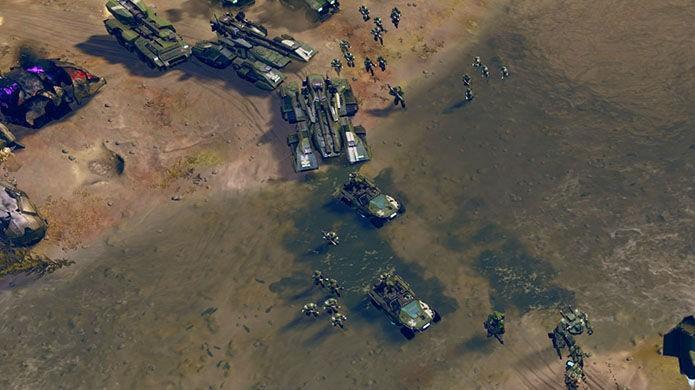 Halo Wars 2 frustra com controles limitados no joystick (Foto: Divulgação/Microsoft)
