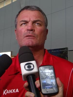 Mazola Júnior, CRB (Foto: Leonardo Freire/GloboEsporte.com)
