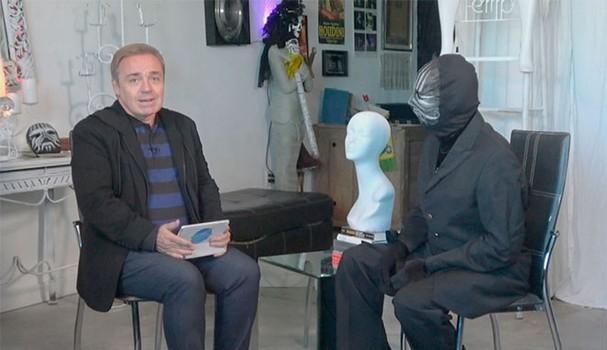 Gugu Liberato entrevista Mister M (Foto: Reprodução)