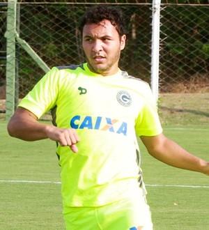Alex Alves e Juninho - Goiás (Foto: Rosiron Rodrigues / Goiás E.C.)