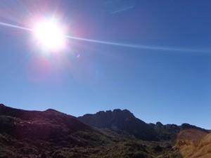 Parte Alta do Parque Nacional do Itatiaia (Foto: Alessandra Pinheiro/TV Rio Sul)