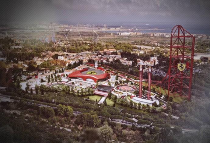 Parque da Ferrari será aberto em abril (Foto: Site oficial da PortAventura)