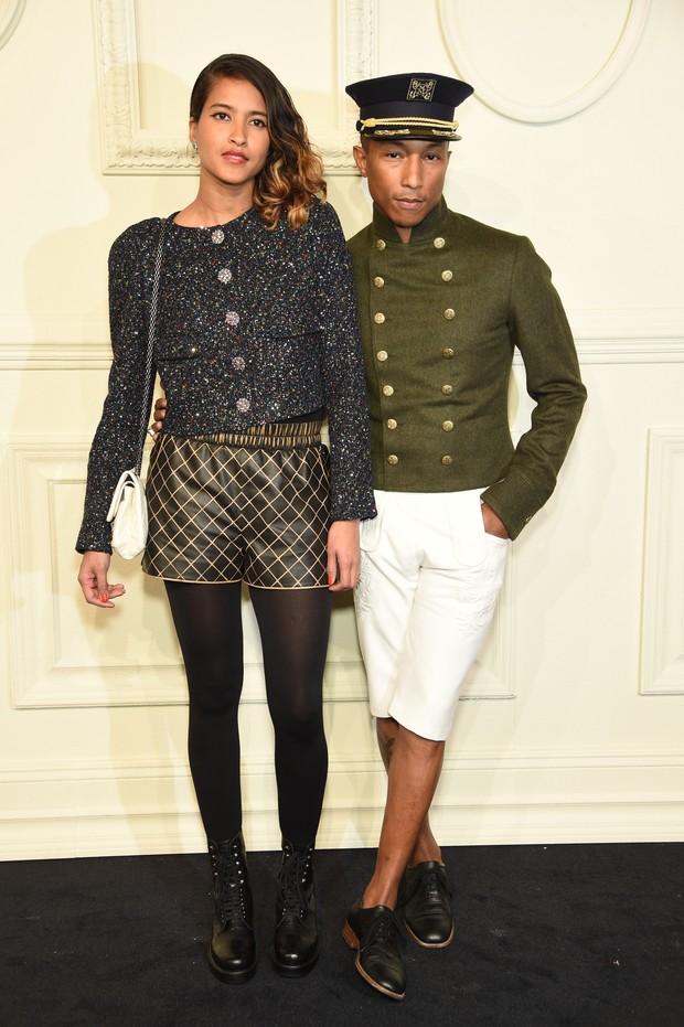 Helen Lasichanh e Pharrell Williams (Foto: Getty Images)