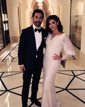 Eva Longoria com Jose Antonio Baston (Foto: Reprodução/Instagram)