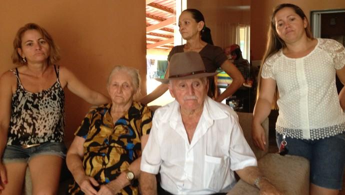 Família do Patrick Gustavo  (Foto: Edson Reis/GloboEsporte.com)