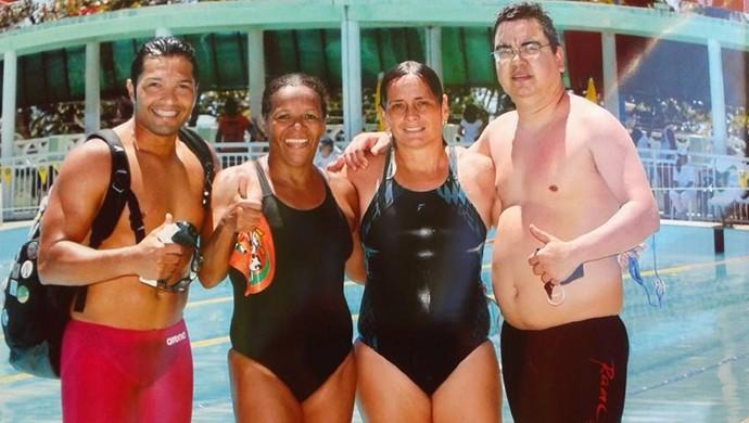 Masters de natação conquistarão 40 medalhas e quebra de recorde, no CE (Foto: Reprodução/Facebook)