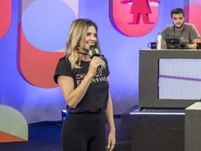 Fernanda Lima também esteve no último mesão (Foto: Globo/Renato Miranda)