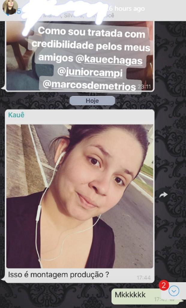 Amigos de Marília Mendonça brincam que foto de cantora se exercitando é montagem (Foto: Reprodução/Instagram)