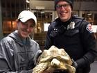 Polícia recupera tartaruga roubada durante invasão domiciliar nos EUA