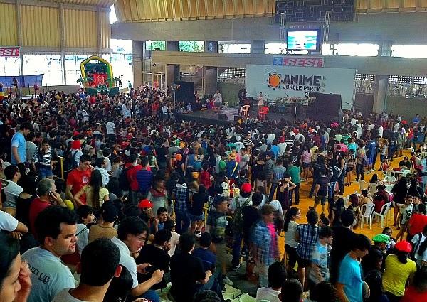 Cerca de seis meil pessoas compareceram no último dia do evento. (Foto: Mônica Dias/ G1 AM)