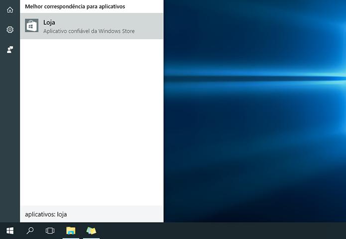Acesse a loja oficial do Windows 10 (Foto: Reprodução/Paulo Alves)