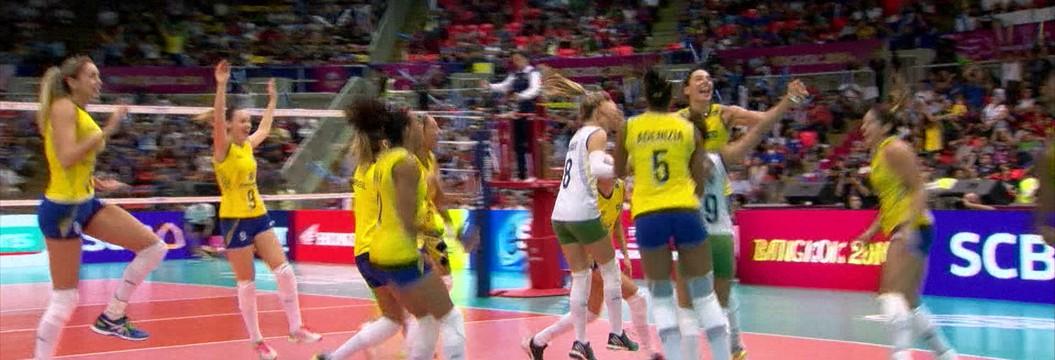 Brasil é campeão do Grand Prix de Vôlei