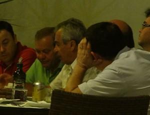 Reunião diretoria CSA, Roberto Mendes (Foto: Denison Roma/Globoesporte.com)