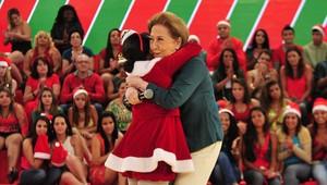 Letícia, menina do abraço do Esquenta (Foto: Divugação)