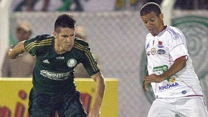 Marcelo Oliveira jogo Palmeiras e Vilhense (Foto: Cesar Greco / Agência Estado)