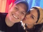 Thais Fersoza se declara para Michel Teló: 'Meu companheiro, meu amor'