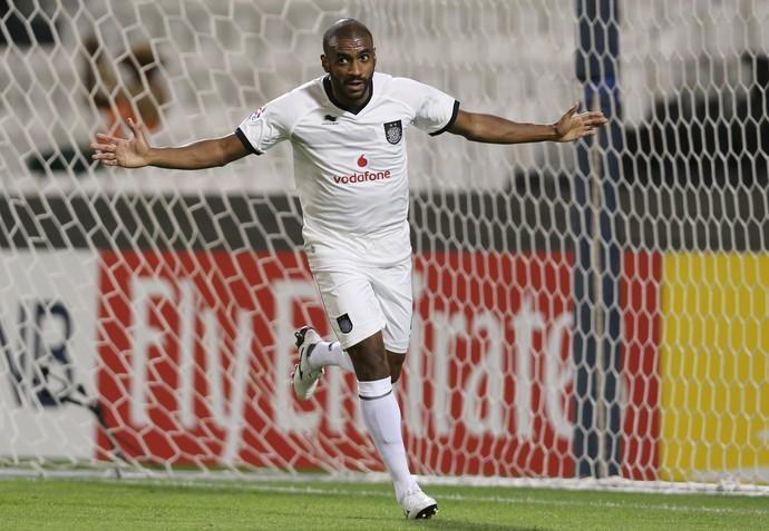 Muriqui comemora gol Al-Sadd (Foto: REUTERS/Fadi Al-Assaad)
