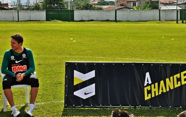 Keirrison na peneira A Chance da Nike (Foto: Daniel Cardoso)