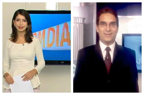 Max Andrade assume bancada do Bom Dia Minas (Foto: Montagem / Inter TV)