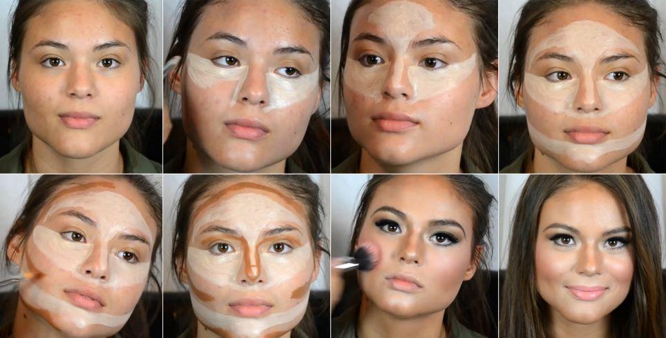 Tutorial mostra truques de maquiagem de Kim Kardashian