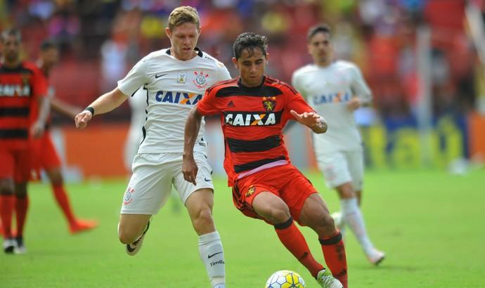 Sport x Corinthians (Foto: Aldo Carneiro (Pernambuco/Press))