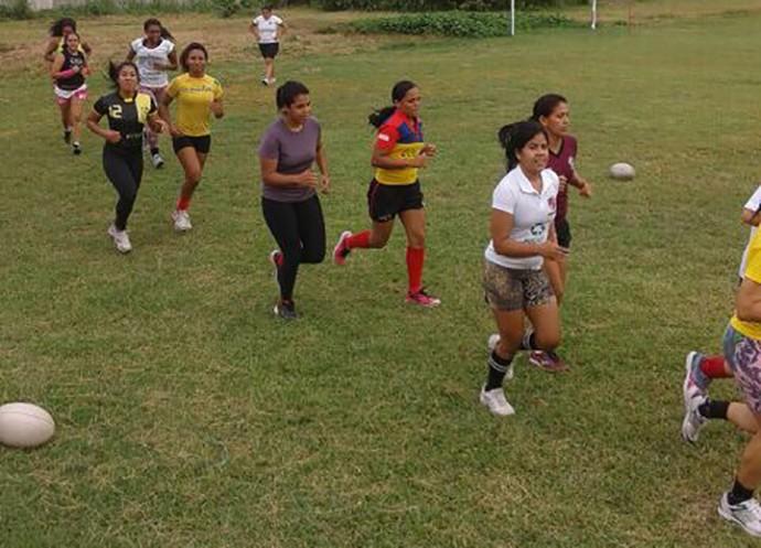 Delta Rugby feminino (Foto: Reprodução/Facebook)