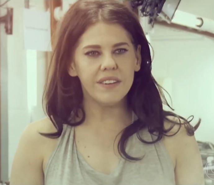 Bárbara Paz participa do 'Caldeirão do Huck' (Foto: TV Globo)