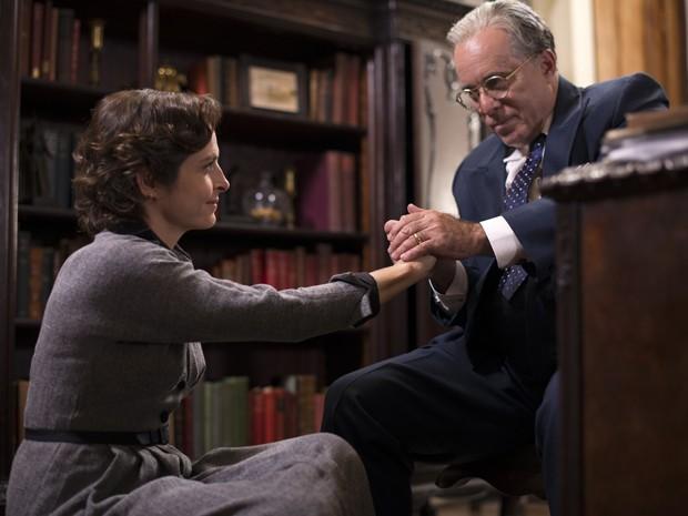 Drica Moraes e Tony Ramos em cena do filme Getúlio (Foto: Reprodução)