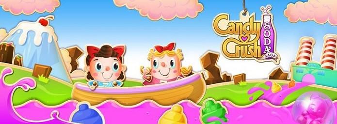 Candy Crush Soda Saga já está disponível para iOS e Android (Foto: Divulgação)
