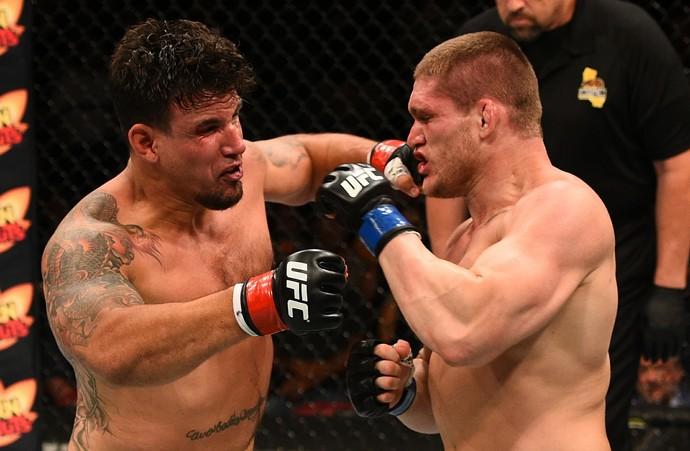 Frank Mir e Todd Duffee UFC San Diego (Foto: Getty Images)