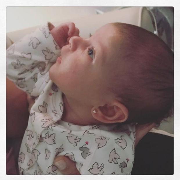 Nina, filha de Carol Castro (Foto: Reprodução/Instagram)