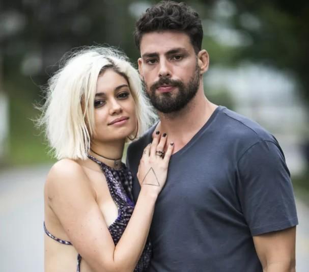 Cauã e Sophie Charlotte serão um casal na série Ilha de Ferro, ambientada em plataforma de petróleo  (Foto: João Miguel Junior/ TV Globo)