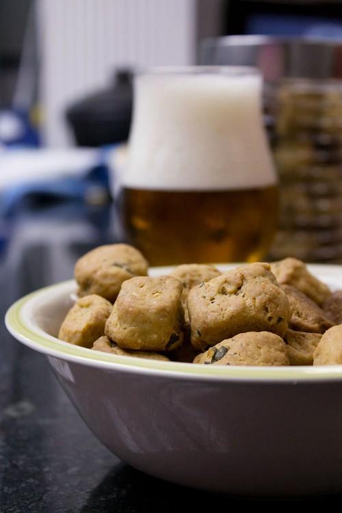 Biscoito Salgadinho de Cerveja