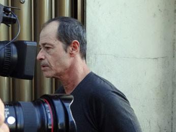 Tio de Campos, o cineasta Guel Arraes, também assistiu à celebração (Foto: Luna Markman/G1)