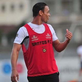 Ricardo Oliveira Treino Santos (Foto: Ivan Storti/Divulgação SFC)