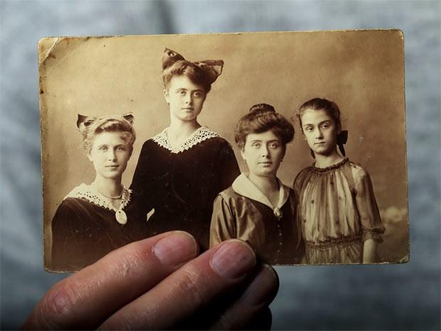 A família de Laszlo, que foi toda exterminada no maior campo de concentração nazista (Foto: Laszlo Balogh/Reuters)