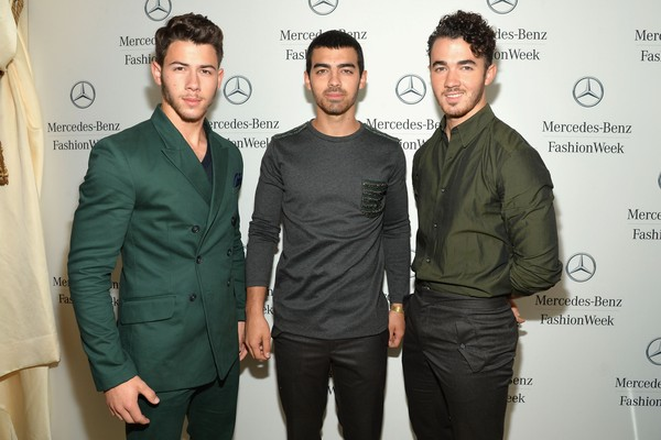 Nick, Joe e Kevin Jonas (Foto: Getty Images)